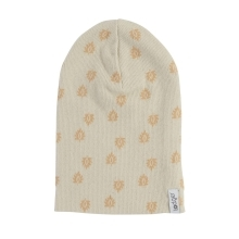 LODGER Beanie Print Rib Birch