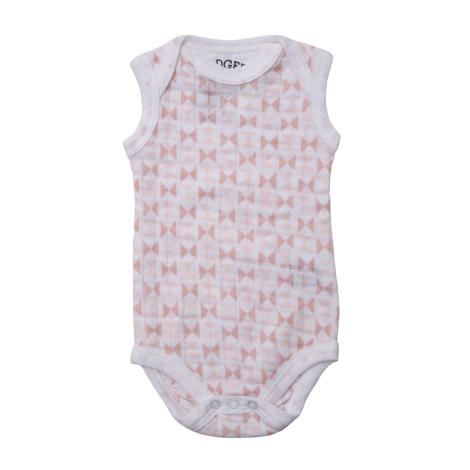 LODGER Body Romper Scandinavian Print Blush/Soft Skin vel. 68