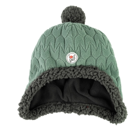 LODGER Hatter Empire Fleece Green Bay 0 - 3 měsíce