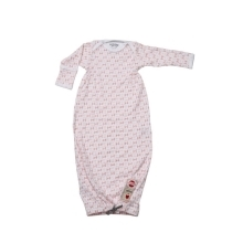 LODGER Hopper Newborn Scandinavian Print Blush/Soft Skin vel. 50/62