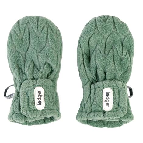 LODGER Mittens Empire Fleece Green Bay 1 - 2 roky