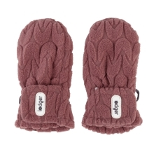 LODGER Mittens Empire Fleece Rosewood