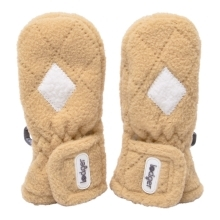 LODGER Mittens Fleece Scandinavian Sand