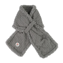 LODGER Muffler Empire Fleece Sharkskin