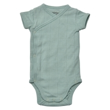 LODGER Romper Fold Over Solid Feather