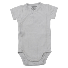 LODGER Romper Fold Over Solid Mist