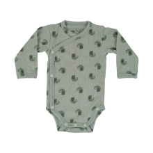 LODGER Romper LS Flame Tribe Silt Green