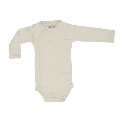 LODGER Romper Solid Long Sleeves Ivory