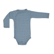 LODGER Romper Solid Long Sleeves Ocean