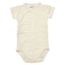 LODGER Romper Solid Short Sleeves Ivory