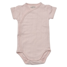 LODGER Romper Solid Short Sleeves Soft-Skin