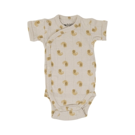 LODGER Romper SS Flame Tribe Birch 80