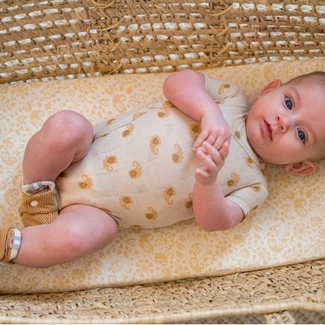 LODGER Romper SS Flame Tribe Birch