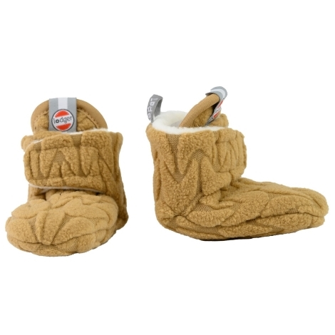 LODGER Slipper Fleece Empire Dark Honey 3 - 6 měsíců