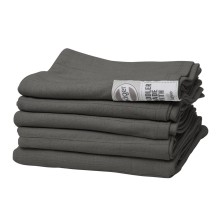 LODGER Swaddler Solid 70 x 70 cm Carbon