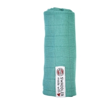 LODGER Swaddler Solid 70 x 70 cm Dusty Turquoise