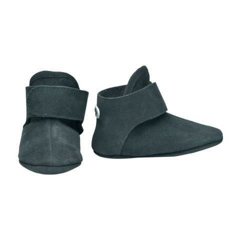 LODGER Walker Leather Basic Sage 3 - 6 měsíců