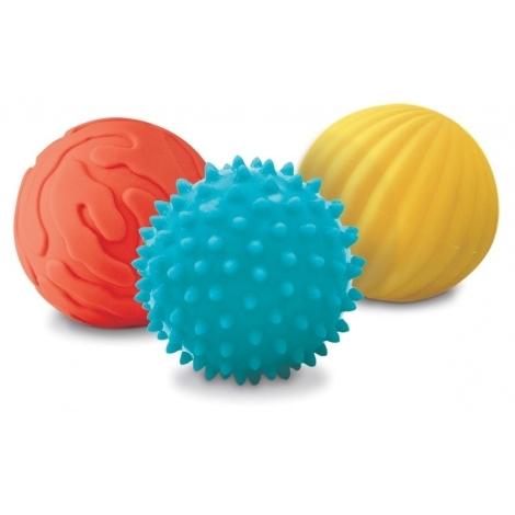 LUDI Senzorické míčky 3 ks malé