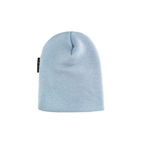 LULLALOVE Vlněná čepice Merino Premium Modrá