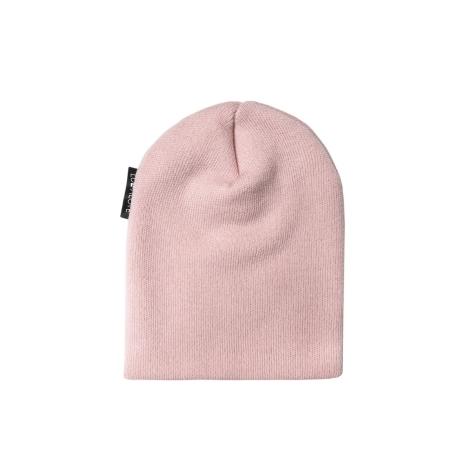 LULLALOVE Vlněná čepice Merino Premium Růžová