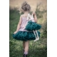 MANUFAKTURA FALBANEK Sukně PettiSkirt Dark Green 7 - 9 let