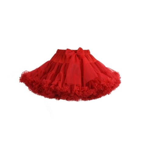 MANUFAKTURA FALBANEK Sukně PettiSkirt Red 7 - 9 let