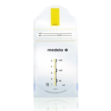 MEDELA Sáčky na skladování mat. mléko 180ml 50ks