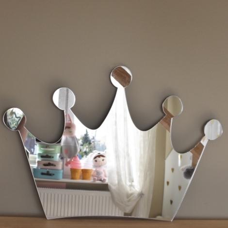 METOO Zrcadlo na zeď Koruna