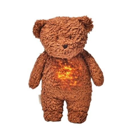 MOONIE Usínáček Medvěd Caramel