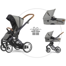 MUTSY Evo Urban Nomad komplet s DÁRKEM! Dark Grey/Light Grey