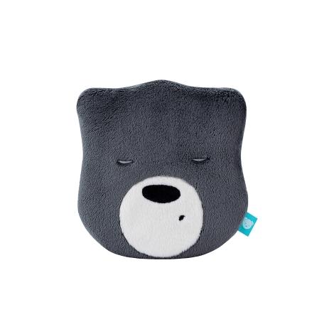 MYHUMMY Šumící medvídek Hlavička Mini Dark Grey