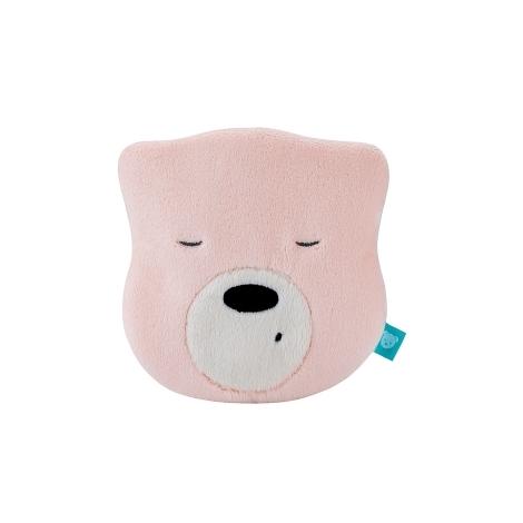 MYHUMMY Šumící medvídek Hlavička Mini Pink