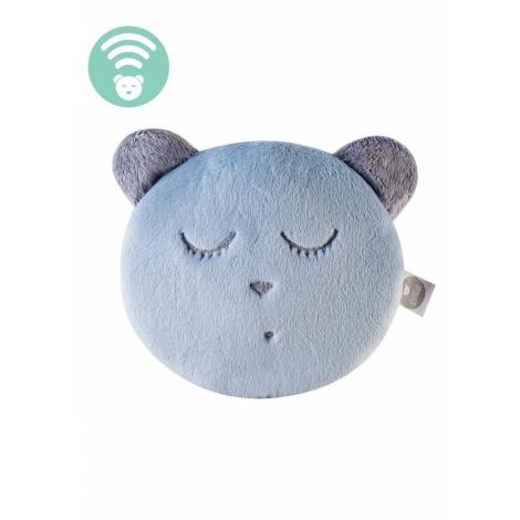 MYHUMMY Šumící medvídek Hlavička Spáč Blue