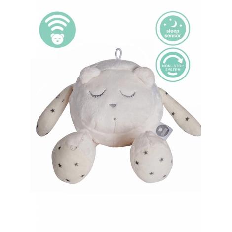 MYHUMMY Šumící medvídek Maskot Spáč Ecru + senzor spánku