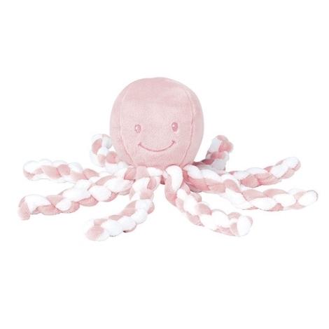 NATTOU První hračka chobotnička PIU PIU Lapidou Light Pink 0 m+