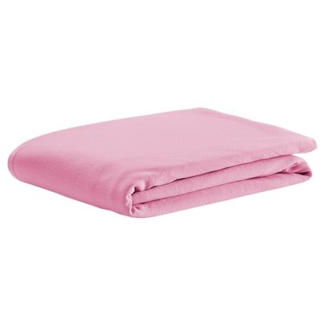 ODENWÄLDER prostěradlo UNI bavlna soft pink