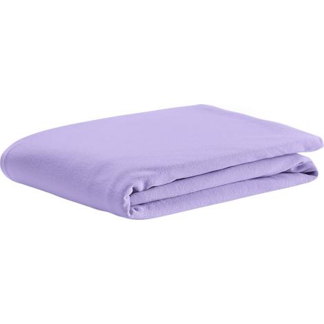 ODENWÄLDER prostěradlo UNI bavlna soft violet