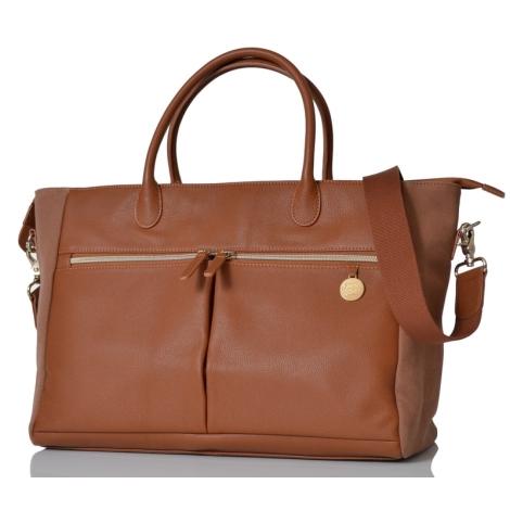 PACAPOD Fortuna hnědá přebalovací taška i batoh