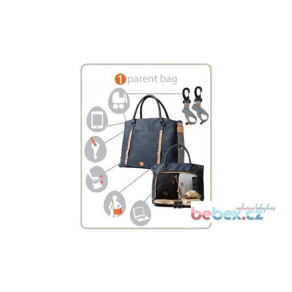 PACAPOD Mirano kabelka i přebalovací taška světle hnědá  8bcf95aff93