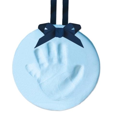 PEARHEAD Otisk nožičky, závěsná ozdoba, modrý