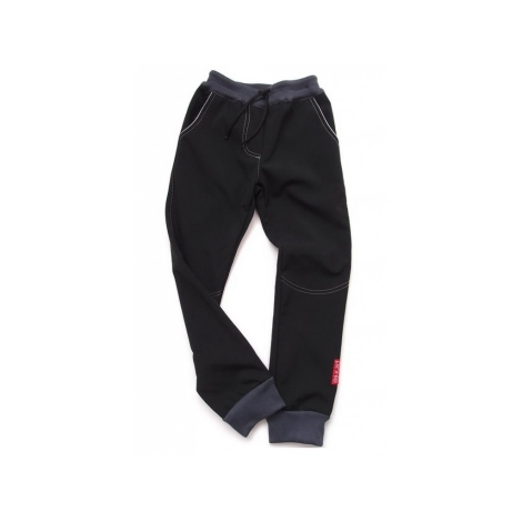 "PINKIE Kalhoty ""P"" Black/Grey"