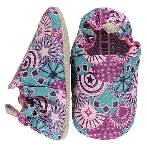 POCO NIDO Capáčky Mini Shoes Carnival Pattern