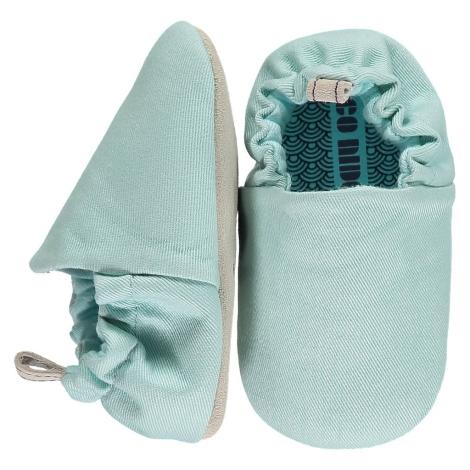 POCO NIDO Capáčky Mini Shoes Egg Blue 12-18 měsíců