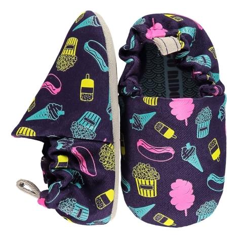 POCO NIDO Capáčky Mini Shoes Fairground Food 6-12 měsíců