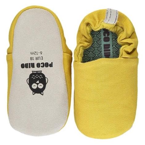 POCO NIDO Capáčky Mini Shoes French Mustard