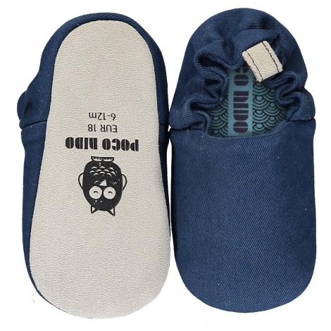 POCO NIDO Capáčky Mini Shoes French Navy