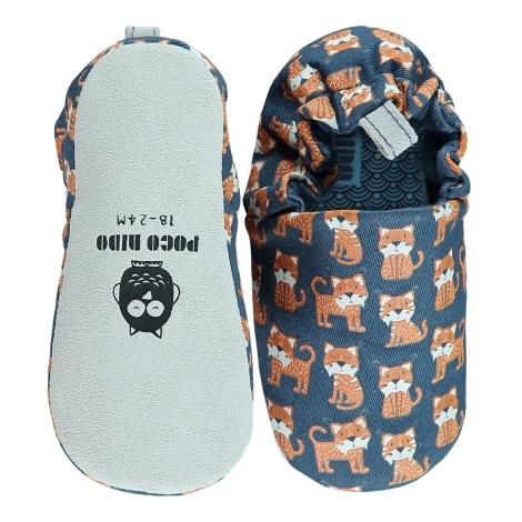 POCO NIDO Capáčky Mini Shoes Lynx Navy 12-18 měsíců