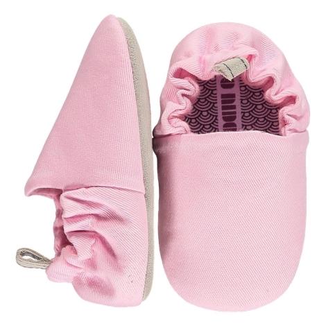 POCO NIDO Capáčky Mini Shoes Peony Pink 6-12 měsíců