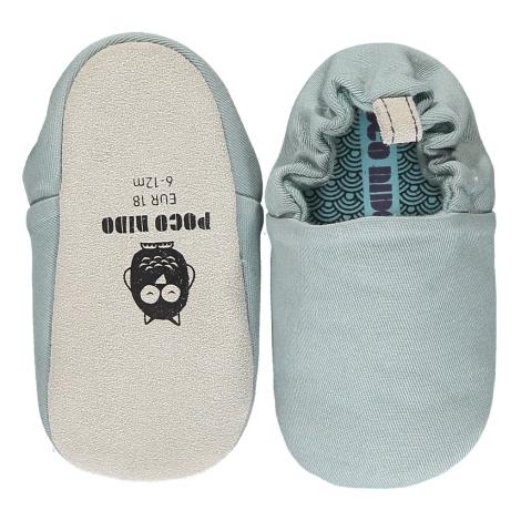 POCO NIDO Capáčky Mini Shoes Pigeon Grey
