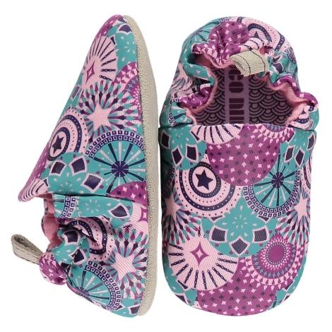 POCO NIDO Capáčky Mini Shoes Toddler Carnival Pattern vel. 21